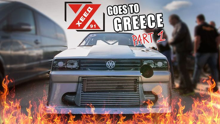 SCIROCCO GT-R by HEED-AUTO goes to GREECE pt1 | Autokinisimag