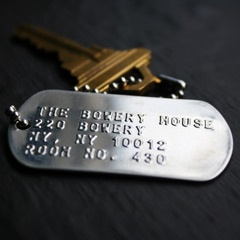 Cool idea for a hotel room key.