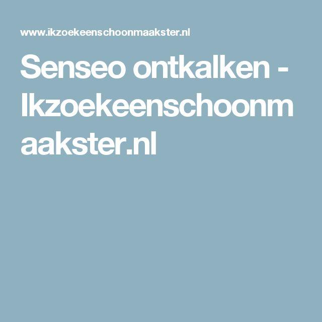 Senseo ontkalken - Ikzoekeenschoonmaakster.nl