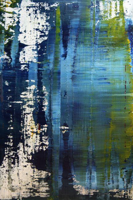Koen Lybaert - abstract N° 637 - oil on canvas [40 x 60 x 4] / 2013