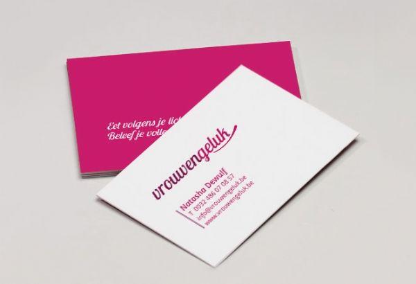 Visitekaartjes Vrouwengeluk