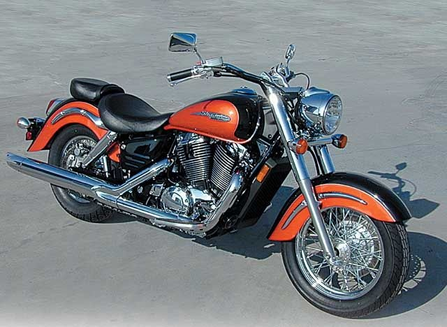 Honda's prettiest Motorcycle Cruiser!