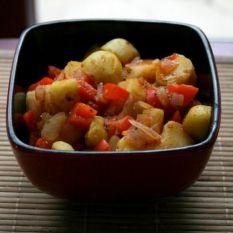 Fantastyczny gulasz z ziemniaków / gulasz ziemniac...