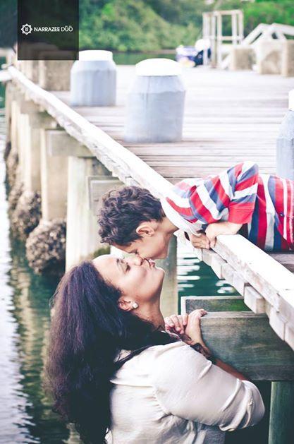 Mom and son love. NarrazeeDuo.com