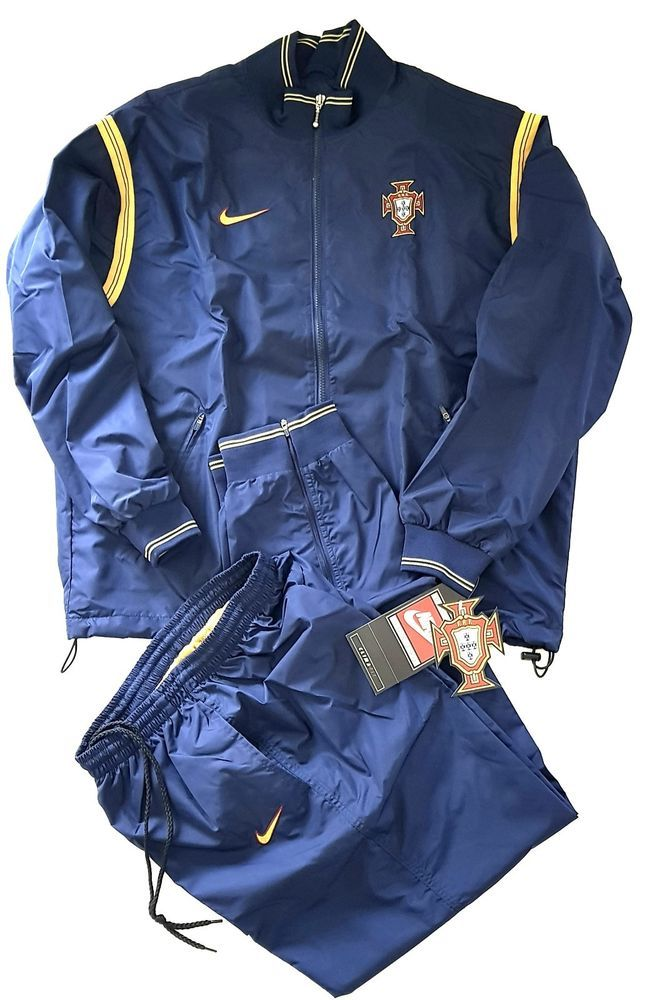 Issue Football Player Nike Portugal National Team Tracksuit 1998 sQrdth