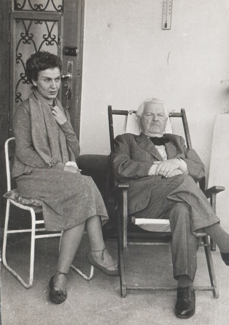 Maria Tanase si Mihail Sadoveanu