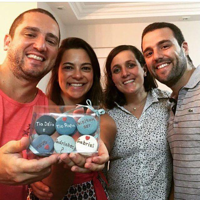 Convite entregue!!! @fadasmadrinhas #maymacarons #macarons #nossasembalagens #padrinhos #batismo #personalizado #macaronspersonalizados #macaronsdecorados