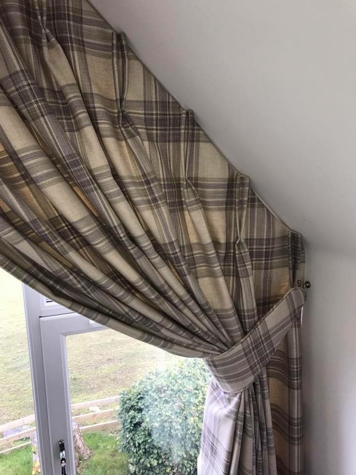 16 Best Angled Curtain Ideas Images On Pinterest Home