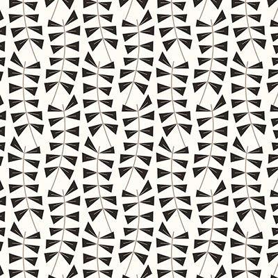 Meander in Grey, Medium by Liz Ablashi for Modern Yardage
