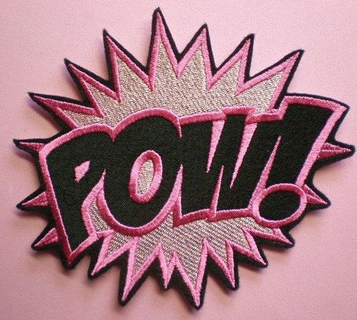 Pow patch. Righting your face.