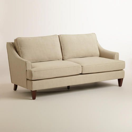 One Of My Favorite Discoveries At WorldMarket Straw Ellis Sofa