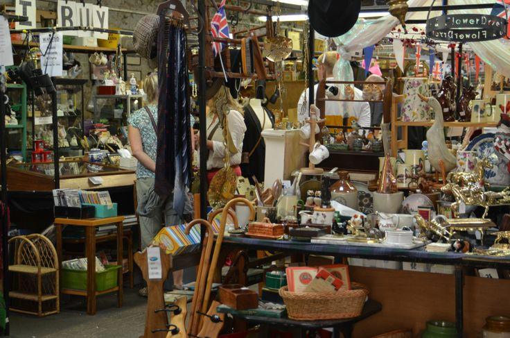 Pickering Flea Market. May Bank Holiday Inspiration from The White Swan Inn, Pickering.