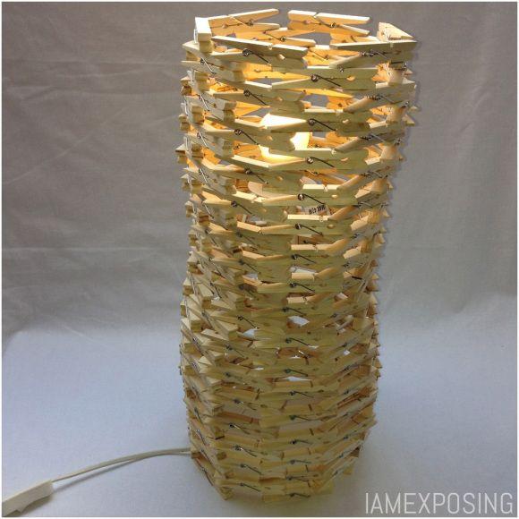 Knijperlamp DIY doehetzelf iamexposing.wordpress.com