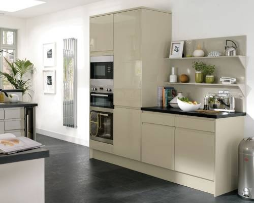 NEW Extra Tall Appliance Tower Units with Bespoke Shelving