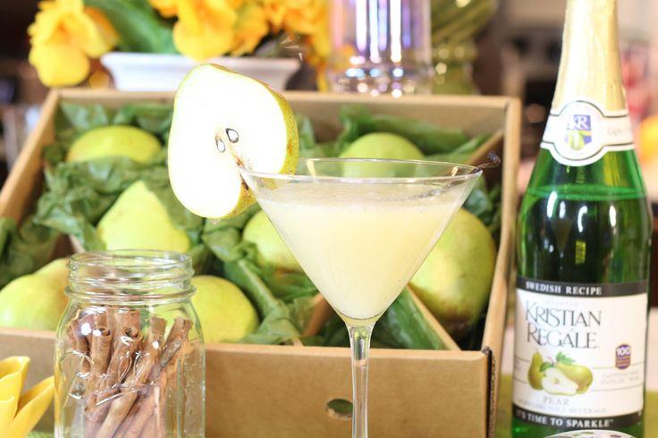 Vanilla Pear-adise Pear Cocktail Recipe: Cinq à Sept Friday w/ Andrea Smoak & Jamal Redman