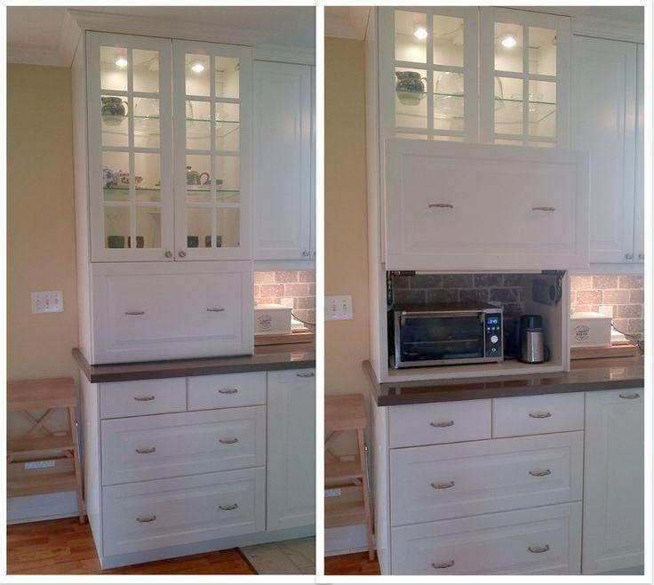 Amazing Appliance Garage Cabinet This Appliance Garage