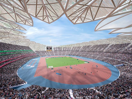 Olympic stadium (mydreamwallpapers)