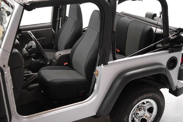 Coverking Jeep Neoprene Seat Covers. Lowest Price Guaranteed. Free Shipping & Reviews! Call the product experts at 800-874-8888.