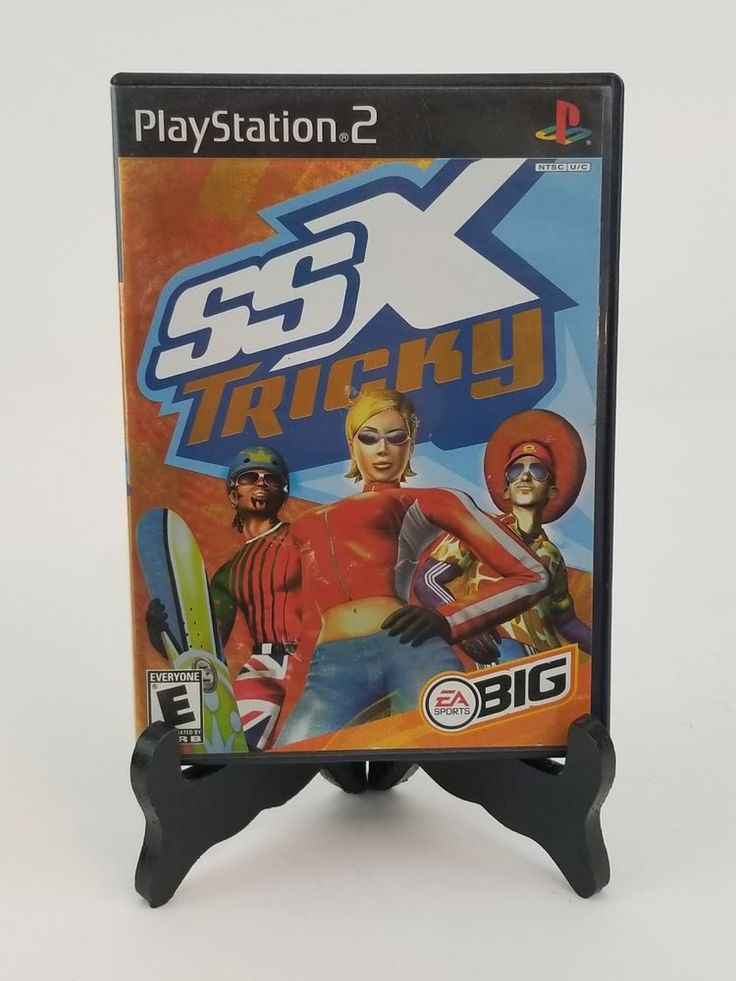 SSX Tricky Sony PS2 Video Game - With Manual Great Condition, Tested, Works