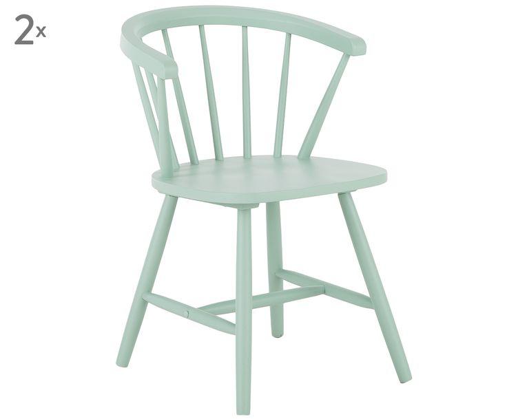 Sessel Megan, 2 Stück in Türkis >> WestwingNow   – Stühle Küche