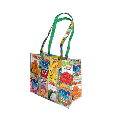 Buy these recycled tote bags and show your environmentally friendliness. All of these tote bags are constructed out of recycled and recyclable materials. JavaScript seems to be disabled in your browser/5(5K).