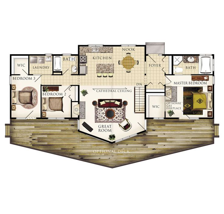 225 best Dream Homes images on Pinterest | Facades, Home plans and ...