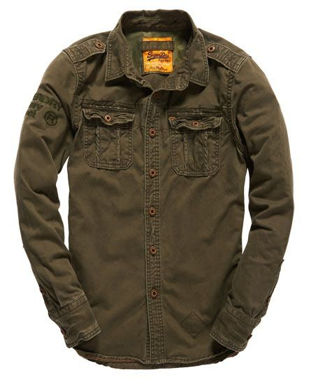 Superdry Military Artillery Shirt