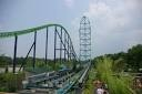 The Kingda Ka at Six Flags New Jersey! Tallest roller coaster in the world! DARE TO RIDE!!!