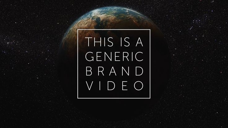 THIS IS WHAT MOST CORPORATE VIDEOS ARE MADE OF. This Is a Generic Brand Video, by Dissolve