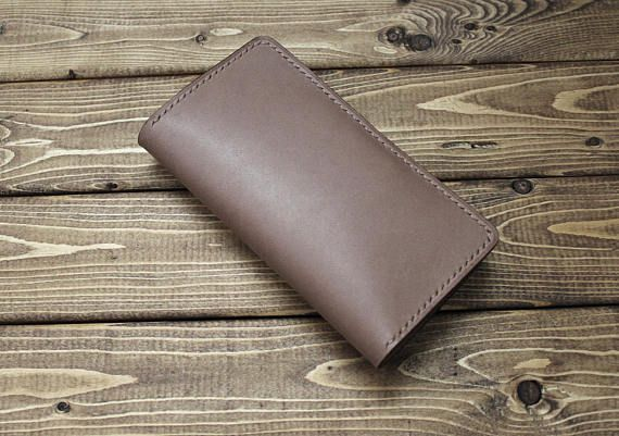 Leather wallet for iPhone, New iPhone X, iPhone 8 plus, iPhone 8, iPhone 7, iPhone 7 plus, iPhone 6, iPhone 6 plus, iPhone SE in BASEBALL GLOVE Cream Brown Leather. Also available for android phone, Samsung Galaxy, Galaxy Note, Galaxy Edge, LGv30, LGv20,