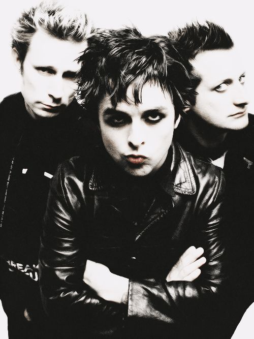 Green Day: their pics are always so hilarious, they always make funny faces
