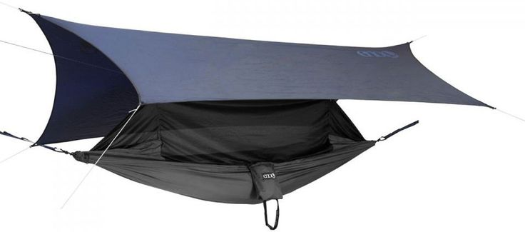 Eagles Nest Outfitters JungleLink Hammock Shelter System || Incorporating all of the elements you need for backcountry overnights or extended trips the Eagles Nest Outfitters (ENO) JungleLink Hammock Shelter System includes a hammock/bug net a rain tarp a suspension system and tent stakes.