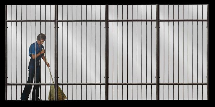 Pistoletto Cage #visual_roots #AccademiaAperta #FondPeruzzo #Weprintheguide #Brera #Milan