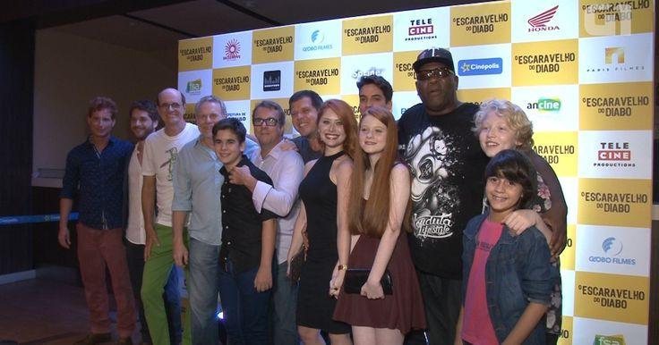 'O escaravelho do diabo' é lançado com diretor e elenco no Rio