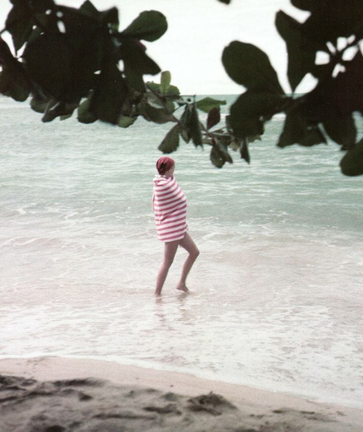 Stripes (Grace Kelly in Jamaica, 1955, photo by Howell Conant)