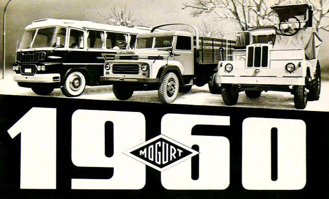 Ikarus bus advertisement in 1960