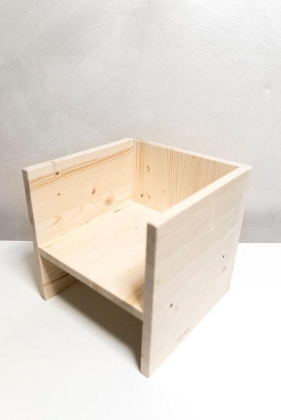 Berliner Hocker Montessori Sitzmöbel zum selbst machen #WoodProjectsDiyBaby