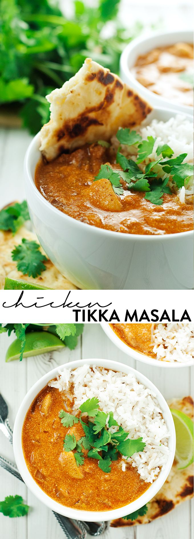 Easy Tikka Masala, ready in 30 minutes! I'll use paneer instead of chickens. asimplepantry.com #LoveBlooms #ad