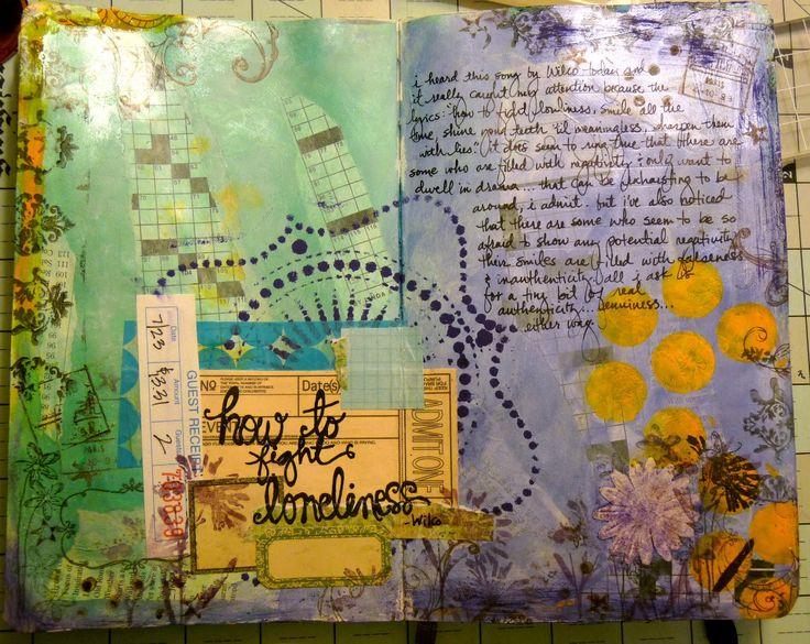 Heidi Dilly: Art Journalspart, Art Journals Mixed, Beautiful Journals, Journals Ideas, Art Journals Parts, Creative Journals, Crafts Art Inspiration, Altered Art, Photo
