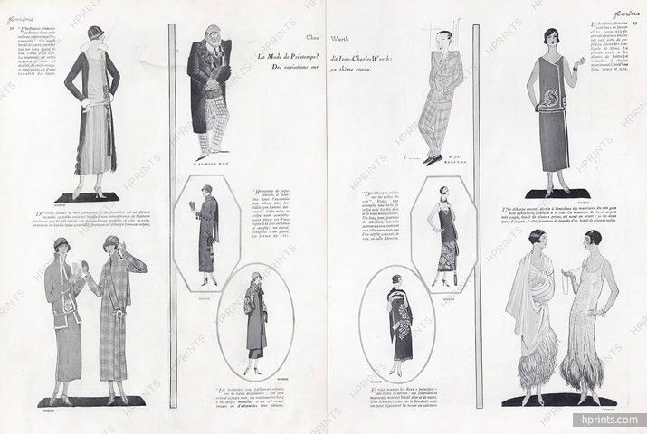 Worth, Martial et Armand (Couture) 1924