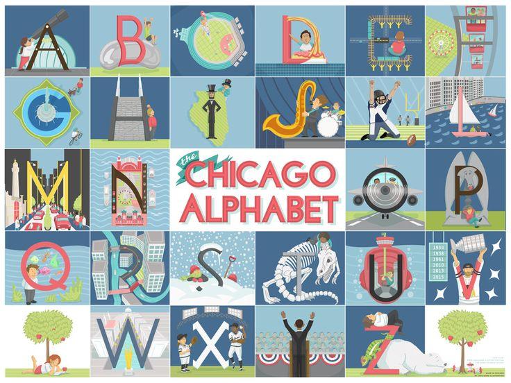 The Chicago Alphabet! A Print for Kids