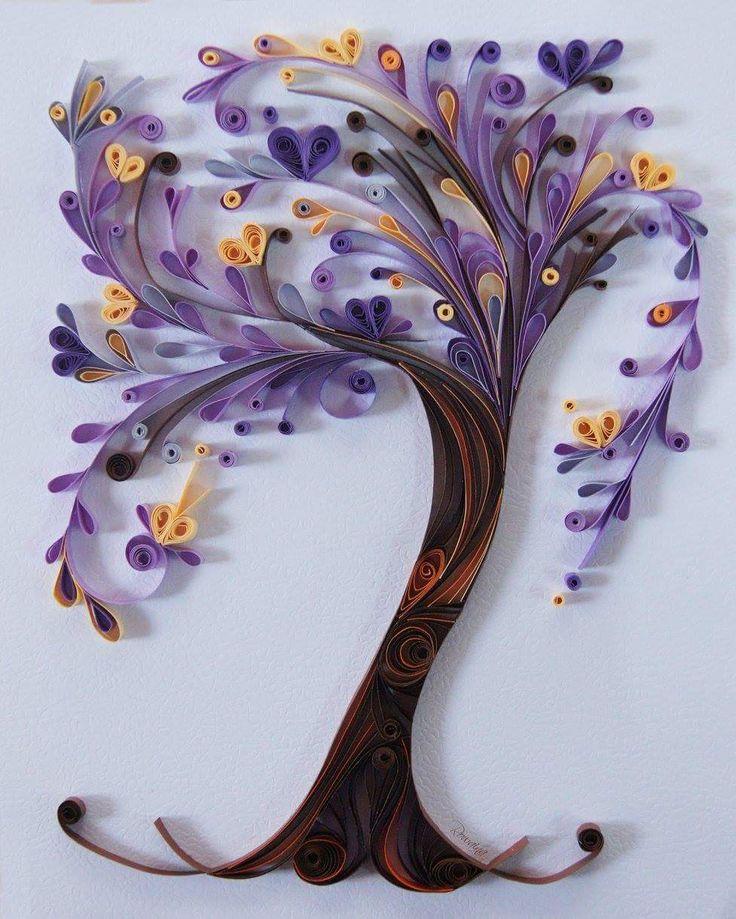 """Violet Tree of life"" by Rowaina from Facebook"