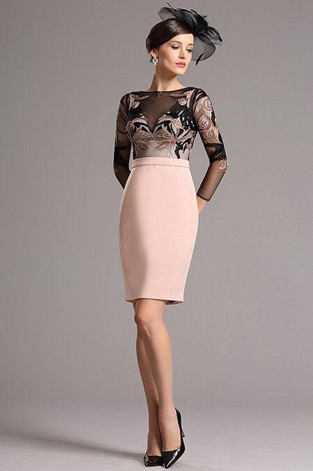 Elegantné koktejlové šaty E00817