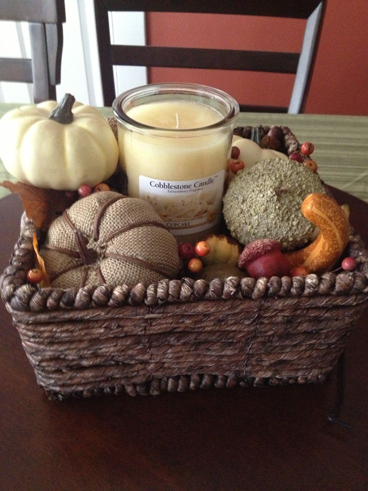 Images about fall basket ideas on pinterest