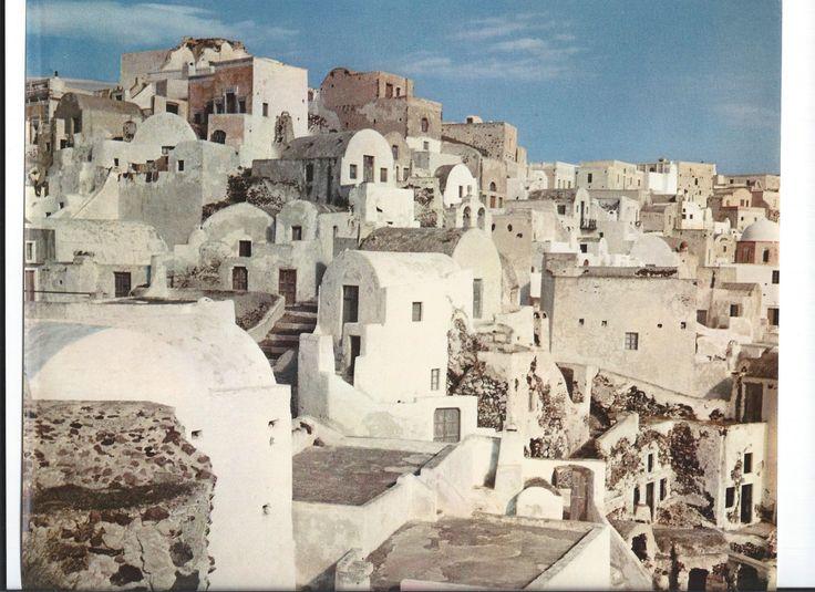Oia, Santorini, 1950