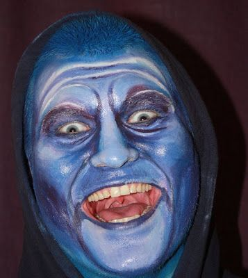 By: Satu Laaninen  Herkkupurkki: bodyart, painted face