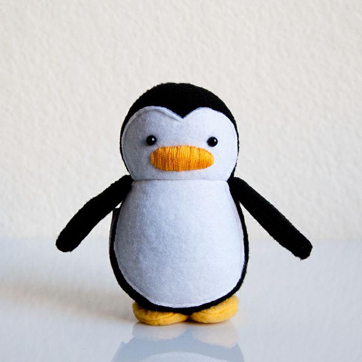Mini Penguin Plush Doll