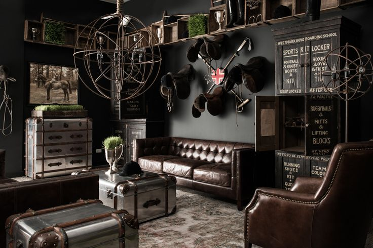 BOISERIE & C.: British Style # Industrial Vintage