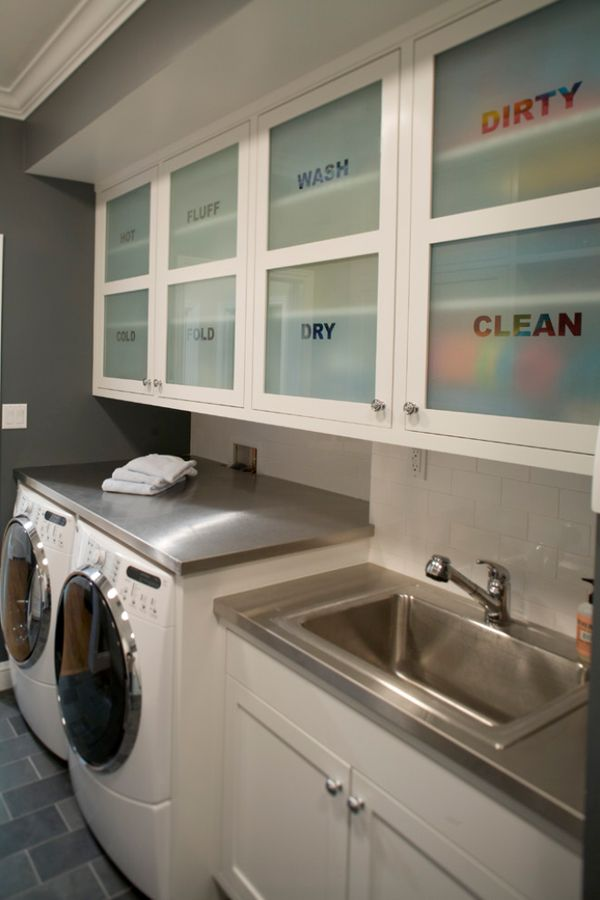 51 Wonderfully Clever Laundry Room Design Ideas Part 93