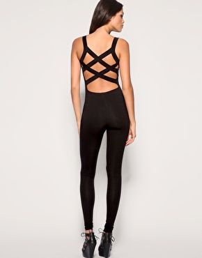 Cross Back Unitard <3 I wish I could find this!!